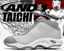 And1 Tai Chi Grey White 8.5 Vince Carter NBA Gray Marbury Basketball Shoes