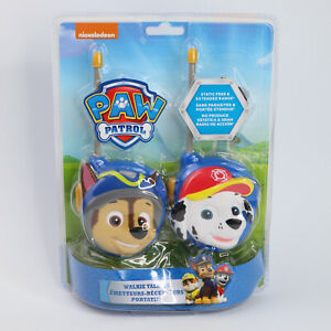 Nickelodeon Paw Patrol Walkie Talkies Chase & Marshall Ages (2018, Spin Master)