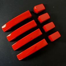 Door Handle Bright Red skins Range Rover Sport 2005-2009 clip on covers edition