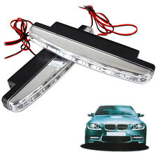 van SMD 12V LED Daytime Running Lights DRL Car Fog Day Driving AMBER or WHITE