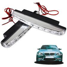 van SMD 12V LED Daytime Running Lights DRL Car Fog Day Driving AMBER or WHITE