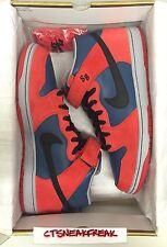 2008 Nike SB Dunk Mid Sz 13 Marvel Spider Man OG Red Blue Black Retro 314383-401