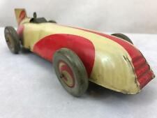 Chad Valley TIN-PLATE Clockwork Land Speed Record modèle voiture de course Mk1 harborne