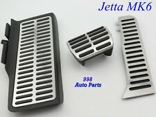 NEW Left Hand Drive Stainless Steel AT Pedal For 2012 VW JETTA MK6 New Beetel