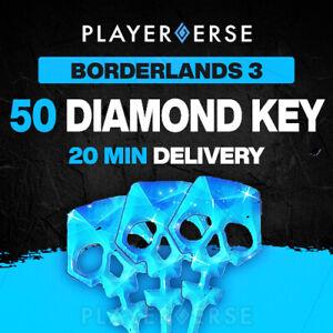 Borderlands 3 Diamond Key x50 - PC/Xbox/Series X - Director's Cut DLC - Fast