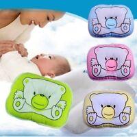 Newborn Bear Printed Pillow Infant Baby Support Cushion Pad Prevent Flat Head NE