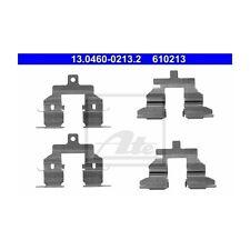 ATE 13.0460-0213.2 Zubehörsatz, Scheibenbremsbelag   Nissan Qashqai +2 I