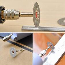 22mm Rotary Tool Circular Saw Blades Cutting Wheel Discs Mandrel Cutoff