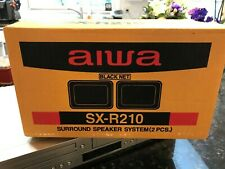 Aiwa SX-R210 Pair Surround Sound Speakers For Stereo System