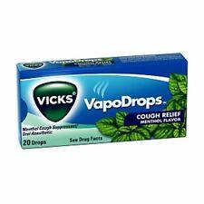 Vicks VapoDrops Cough Relief Drops Menthol Flavor 20 Each [case of 20] (2 pack)