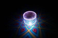 Set of 2 LiteRays LED Light Up Projection LitePod Drink Accessory- 5 Star