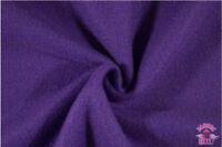 Polar Polyester Solid Fleece Black Fabric by the Yard