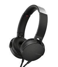 SONY MDRXB550AP/B Extra Bass On-Ear Headphone MDR-XB550AP, Black