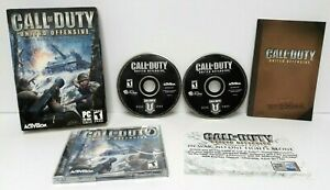 """Call Of Duty United Offensive """"Expansion Pack"""" (2003) PC CD-ROM Video Game"""