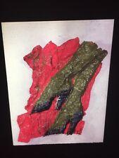 "Claes Oldenburg ""Green Legs With Shoes 1961"" Pop Art 35mm Art Slide"