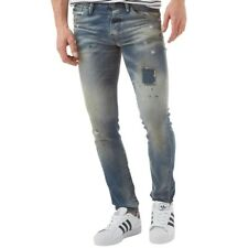 Mens JACK and JONES Glenn Fox Slim Fit Jeans - Blue Denim - W28 L32 RRP 76645c67a9