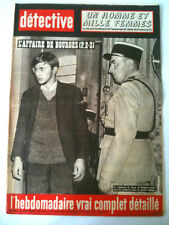 DETECTIVE 20/9/63  L'affaire de bourges