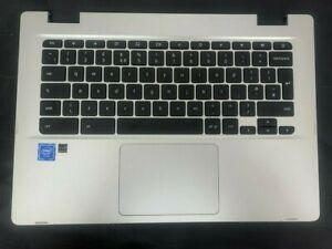 ASUS C423N Palmrest with UK Keyboard and Mouse pad
