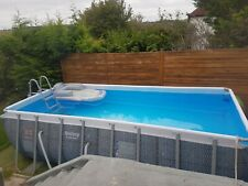 More details for bestway  above ground swimming pool 8 x 16 x 4 foot