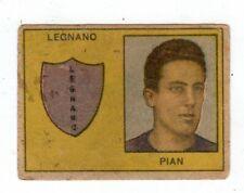 CALCIO  FIGURINA  CALCIATORI   VAV  SERIE I CAPITANI   1950   LEGNANO  PIAN
