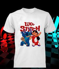 Lilo & Stitch t-shirt cartoon game gamer kids men women tee gift idea