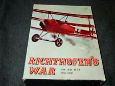 Avalon Hill : Richthofen's War game - Great War: WW1 Air War 1916-18 (UNPUNCHED)