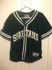 Michigan State Spartans Size Youth Xl 18-20 Basketball Warm Up Shirt