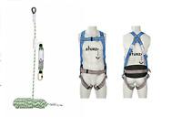 Höhensicherung 10m Set Sicherheitsgurt +10m Seil+ Seilbremse inkl. Falldämpfer