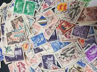 50 France Used Stamps - All Different Selection of Stamps, Off Paper