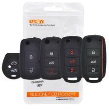 Silicone Key Cover For VW POLO Bora Seat Leon Toledo SKODA Fabia  Remote Case
