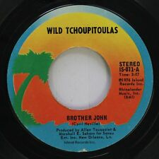 Funk New Orleans 45 Wild Tchoupitoulas - Brother John / Here Dey Come On Island