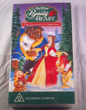 Beauty and the Beast -The Enchanted Christmas - Video Cassette VHS