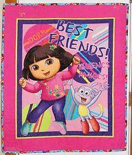 Nickelodeon Dora One Hip Explorer Best Friends Handmade Toddler Quilt REDUCED