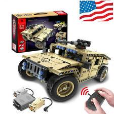Rc Car 3D Humvee Building Blocks Bricks Set Off-road Vehicle KidsToys 502-Pcs