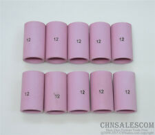 "10 pcs 12#  54N19 Alumina Nozzle Gas Lens Cups for WP-17 WP-18 WP-26 19.5mm 3/4"""