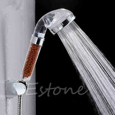 Healthy 4in1 Germanium,FIR,ION Shower Head Filter Water Ionizer Removes Chlorine