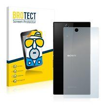 2x Film Protection Mat pour Sony Xperia Z Ultra C6833 (Arrière) Protecteur