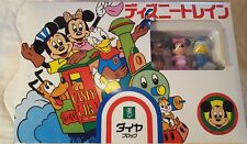 Walt Disney Productions JAPAN Mickey & Pals TOY Train To Assemble