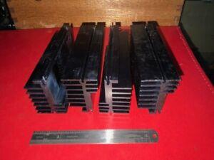 Large Aluminium Heatsinks x4  Power Amplifier, PSU, Inverter