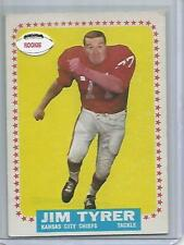 1964, Topps #108, Jim Tyrer  Rookie Football Card