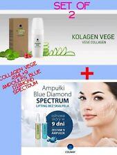 NEW  COLLAGEN VEGE COLWAY 45 ml 100% Vegan+Blue Diamond💎 Spectrum Ampoules