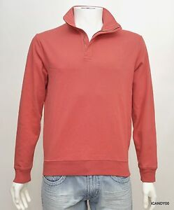 Nwt $125 Ralph Lauren POLO GOLF Turtleneck Mock Sweater Zip Pullover Faded Red S