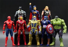 Avengers Infinity Wars set soft rubber material toys with rotating Joint New 4PC