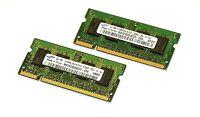 1GB Samsung=2x512mb DDR2 PC2-5300S 667mhz Marken Arbeitsspeicher RAM Macbook/Pro