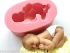 BABY SOAP MOULD Resin/Candles/Melts,crafts, Silicone New Hand Crafted Mold