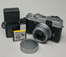 Fujifilm X Series X20 12.0MP Digital Camera - Black Silver