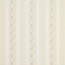 D125 Gold Pink And White Floral Striped Brocade Upholstery Fabric By The Yard