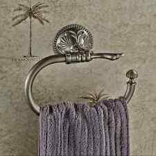 Handtuch Halter Haken Ring Wandhaken Handtuchhalter Handtuchring Vintage Antik