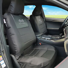 Black Outback Canvas GT R Sports Auto Truck SUV Seat Covers Full Set For Honda