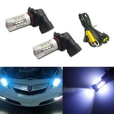 8K Blue 16-CREE 9005 LED High Beam Daytime Running Lights Kit For Acura Honda